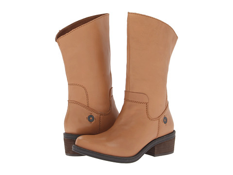 Calvin Klein Jeans - Gracie Leather (Dark Tan Leather) Women's Boots