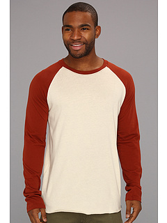 SALE! $17.51 - Save $9 on Hurley Staple L S Raglan (Bone Henna) Apparel - 35.15% OFF $27.00