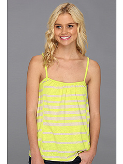 SALE! $12.99 - Save $15 on UNIONBAY Farrah Cami Weekend Stripe (Dark Key Lime) Apparel - 53.61% OFF $28.00