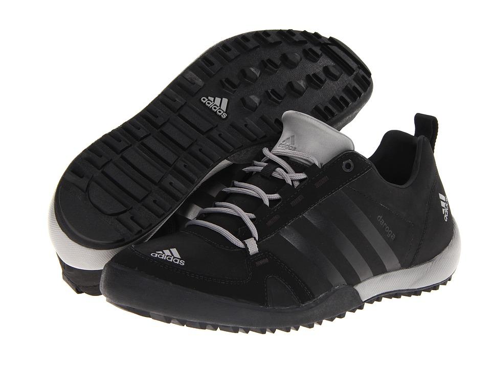 adidas Outdoor - Daroga Two 11 Lea (Black/ Solid Grey/ Shift Grey) Men's Shoes