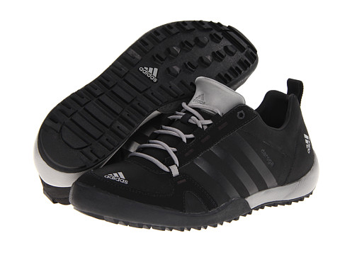 adidas Outdoor - Daroga Two 11 Lea (Black/ Solid Grey/ Shift Grey) Men