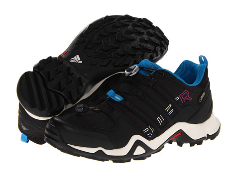 adidas Outdoor - Terrex Swift R GTX (Black/Blue) Women's Shoes
