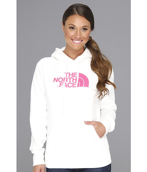 The North Face - Pink Ribbon Half Dome Hoodie (TNF White) Women