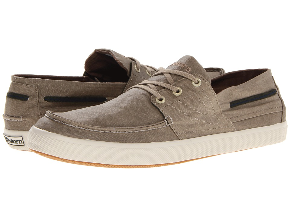 Tretorn - Otto Wax Canvas (Dune Brown) Shoes