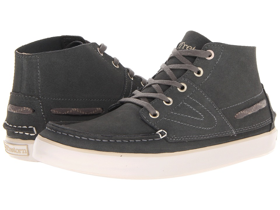 Tretorn - Otto Mid Suede (Gunmetal) Lace-up Boots