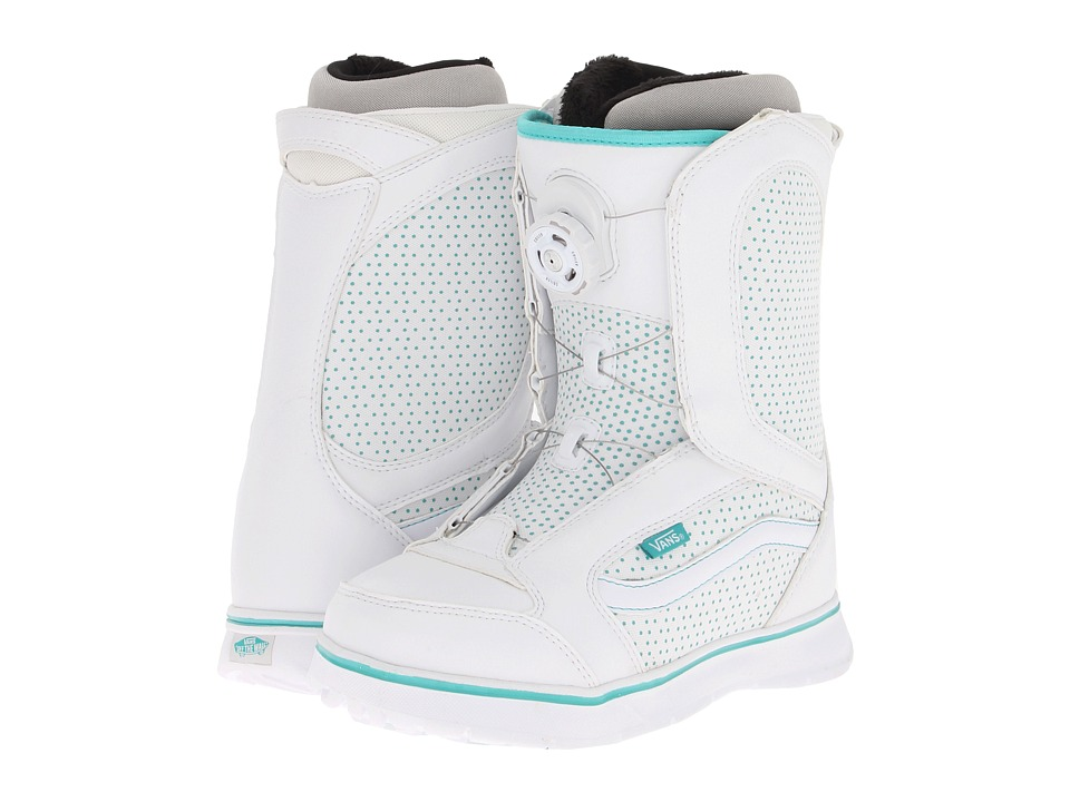 Vans - Encore (White/Blue) Women's Snow Shoes