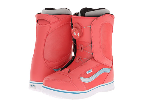 Vans - Encore (Coral/White) Women's Snow Shoes