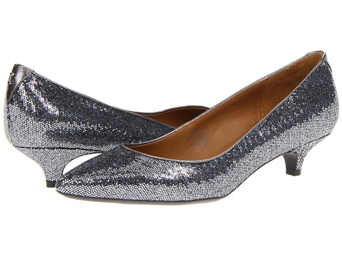 Isaac Mizrahi New York - Gabriel (Pewter Glitter) Women's 1-2 inch heel Shoes