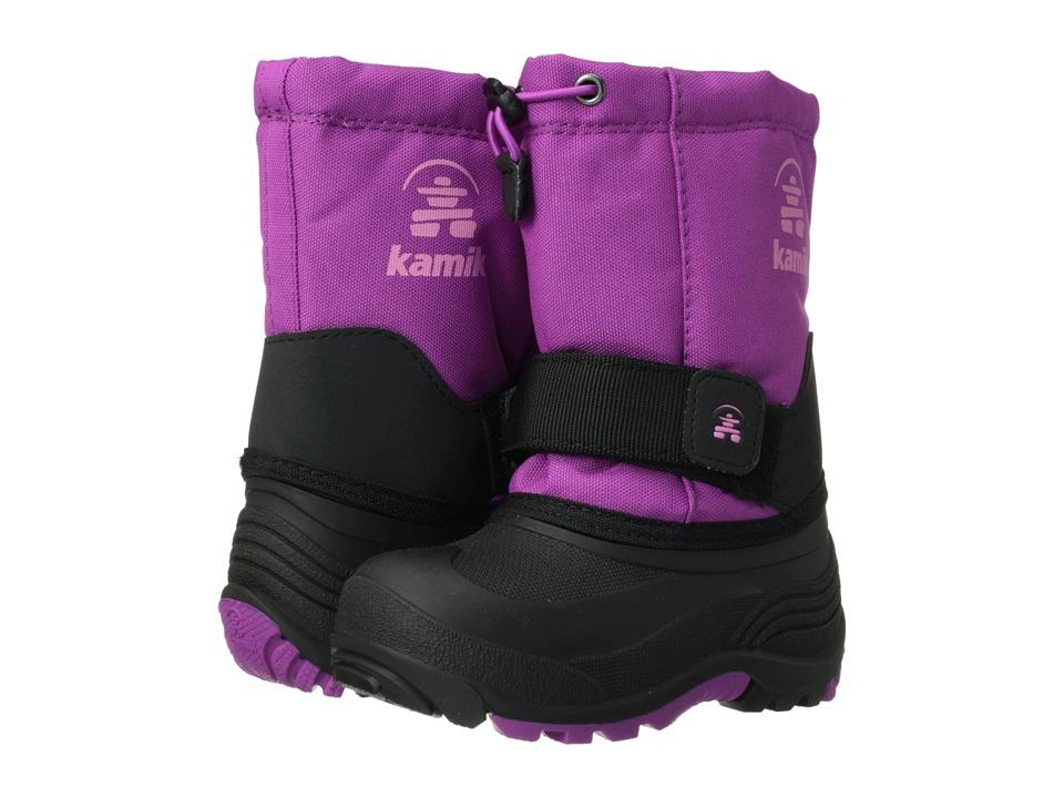 Kamik Kids - Rocket Wide (Toddler/Little Kid/Big Kid) (Viola) Girls Shoes
