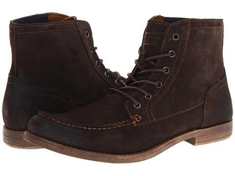 Calvin Klein Jeans Prescott (Dark Brown Suede) Men's Boots