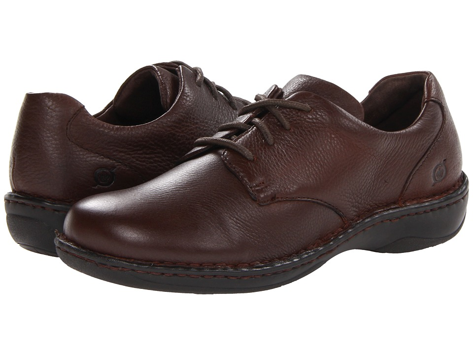 Born - Janice (Cinnamon (Brown) Full Grain) Women's Lace up casual Shoes