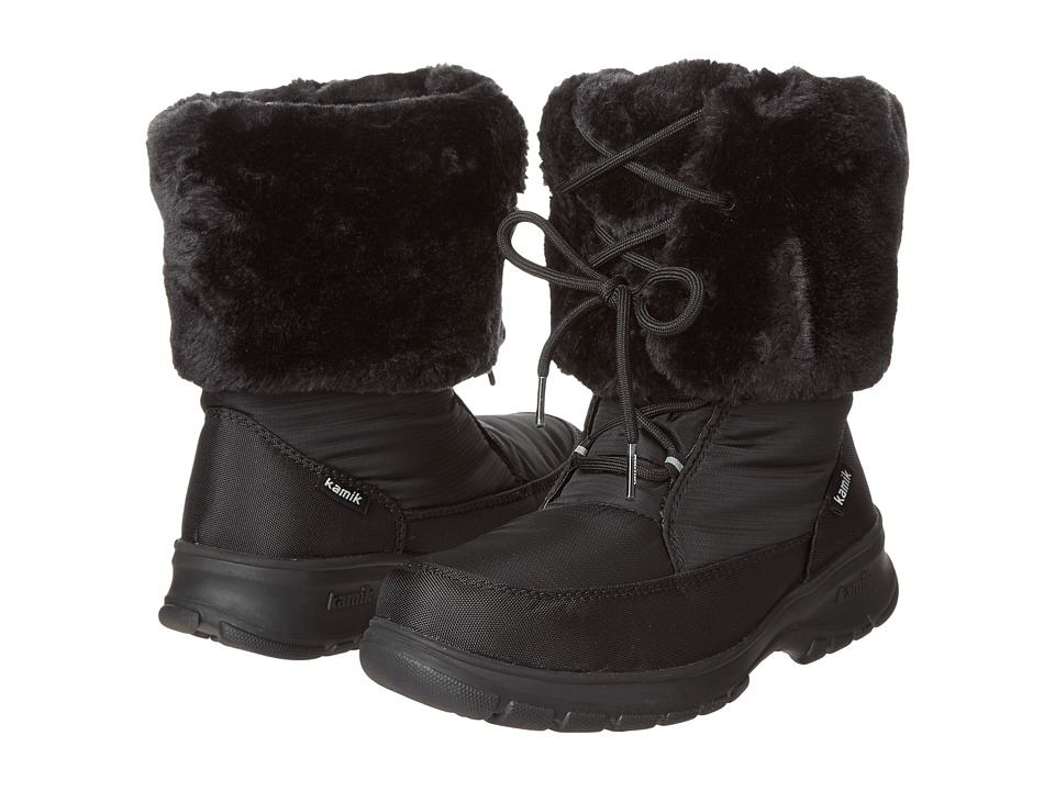 Kamik - Seattle (Black) Women's Cold Weather Boots