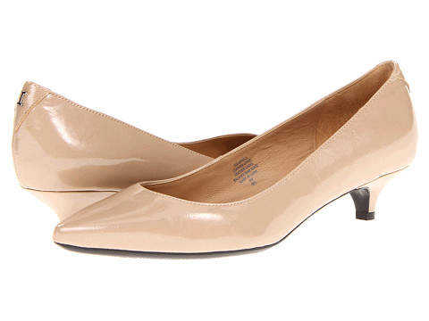 Isaac Mizrahi New York - Gabriel 3 (Natural Patent) Women's 1-2 inch heel Shoes