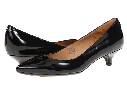 Isaac Mizrahi New York - Gabriel 3 (Black Patent) Women's 1-2 inch heel Shoes