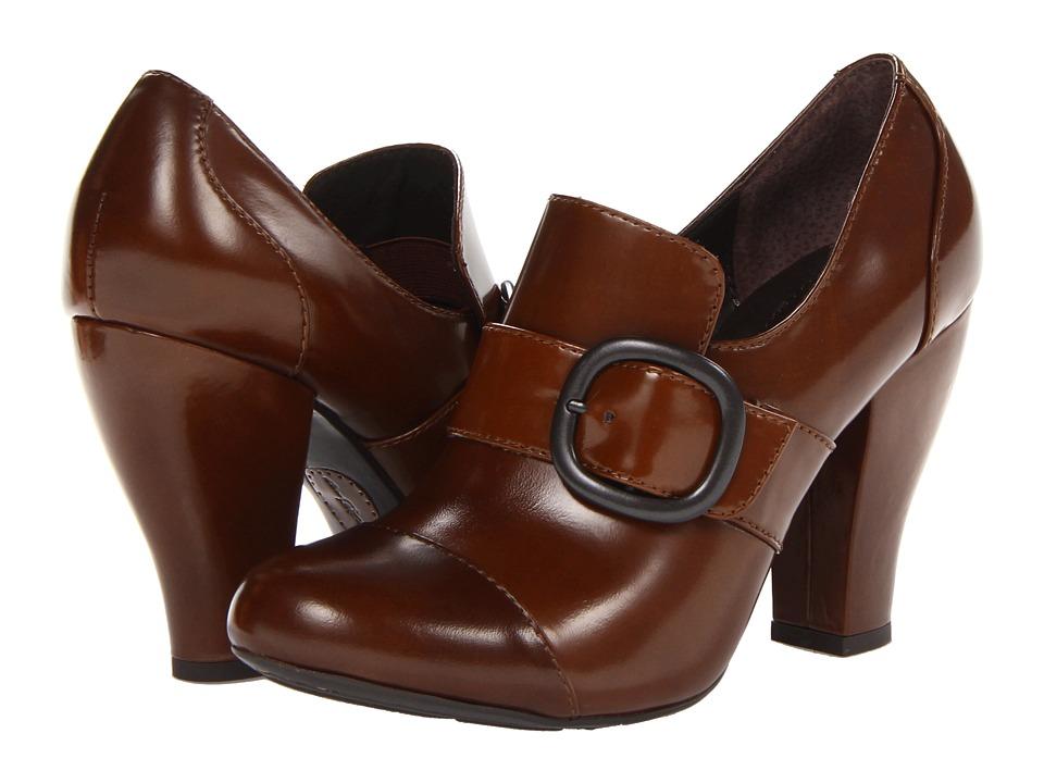 Born - Cecilia - Crown Collection (Bark (Tan) Box Calf) High Heels