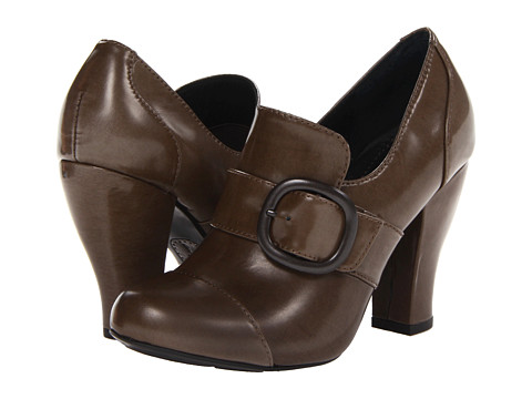Born - Cecilia - Crown Collection (Asfalto (Taupe) Box Calf) High Heels