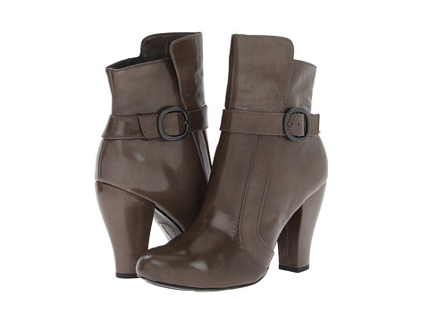 Born - Emie - Crown Collection (Asfalto (Taupe) Box Calf) Women's Dress Pull-on Boots