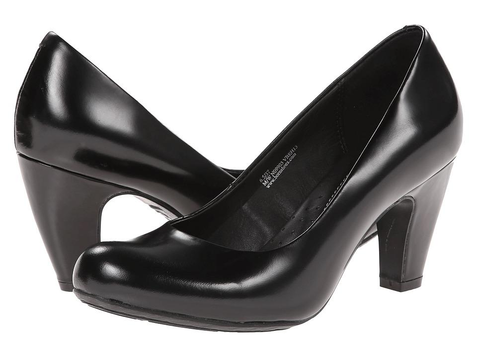 Born - Sabrina - Crown Collection (Nero (Black) Box Calf) Women's Shoes