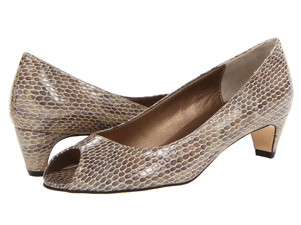 Vaneli - Baxter (Taupe Print) Women's 1-2 inch heel Shoes