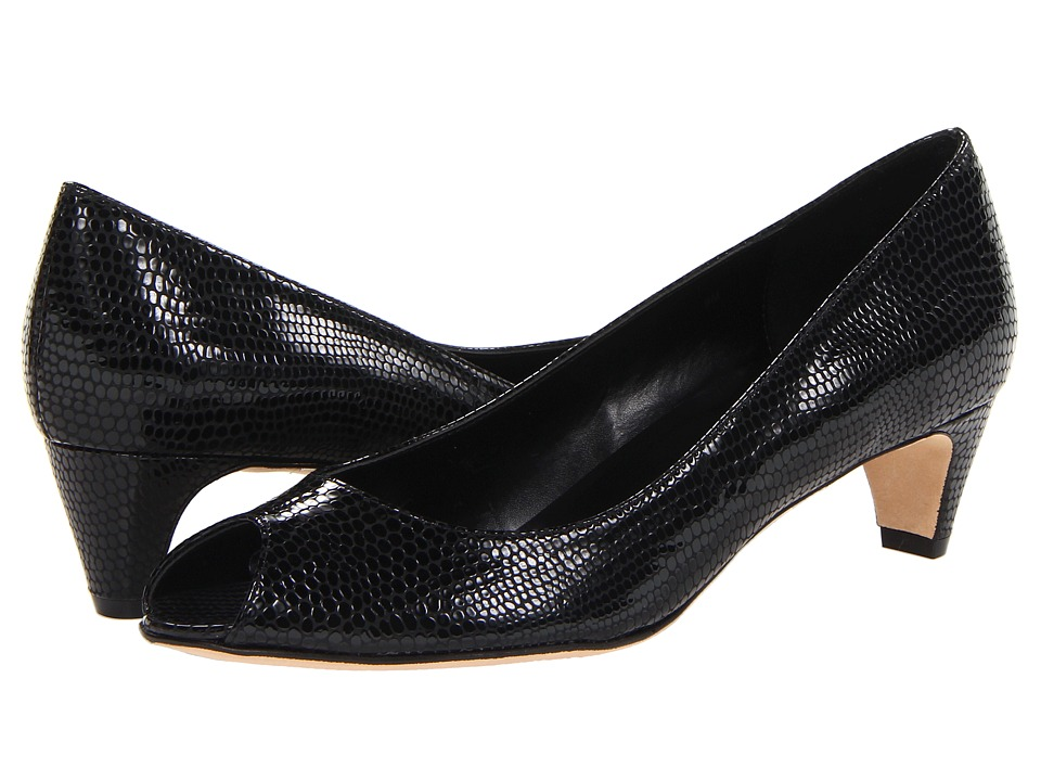 Vaneli - Baxter (Black Print) Women's 1-2 inch heel Shoes