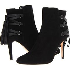 Vaneli Casandra (Black Suede Black Nappa) Footwear