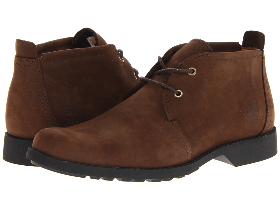 Timberland - Earthkeepers City Lite Waterproof Chukka (Brown Oiled) Men's Shoes