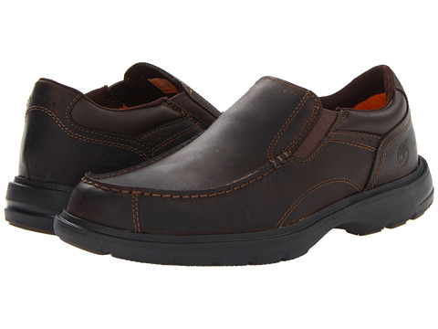 Timberland - Earthkeepers Richmont Slip-On (Brown Oiled) Men's Shoes