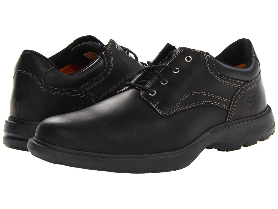 Timberland - Earthkeepers Richmont Oxford (Black Smooth) Men's Shoes