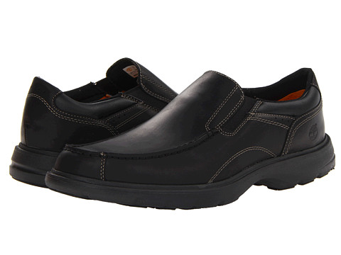 Timberland - Earthkeepers Richmont Slip-On (Black Smooth) Men's Shoes
