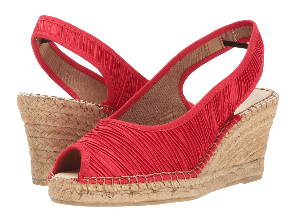 Spring Step - Jeanette (Red) Women's Wedge Shoes