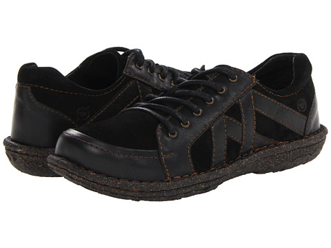 Born Sommer (Black Combo) Women's Lace up casual Shoes