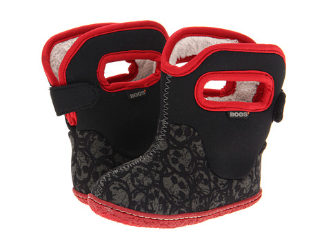 Bogs Kids - Baby Bogs Skulls (Toddler) (Black Multi) Boys Shoes