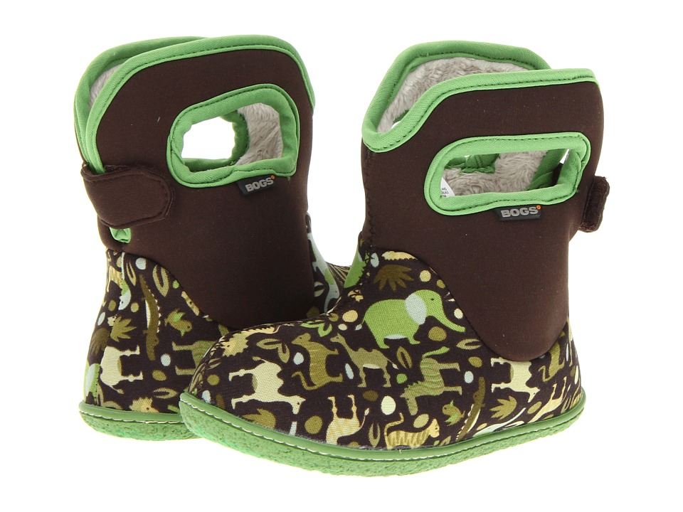 Bogs Kids - Zoo (Toddler) (Green Multi) Kids Shoes