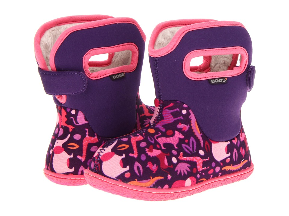 Bogs Kids - Baby Zoo (Toddler) (Pink Multi) Girls Shoes
