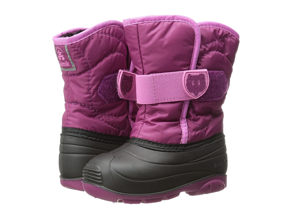 Kamik Kids - Snowbug 3 (Toddler) (Berry) Girls Shoes