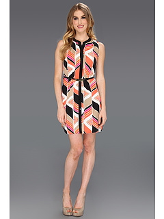 SALE! $76.99 - Save $181 on Trina Turk Karlee Dress (Coral Kiss) Apparel - 70.16% OFF $258.00