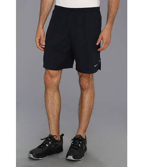 Nike - 7 Woven Short (Dark Obsidian) Men