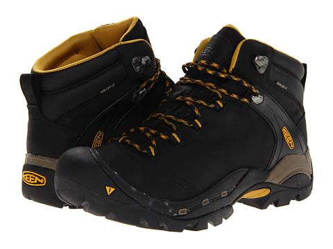 Keen Ketchum (Black/Tawny Olive) Men's Hiking Boots