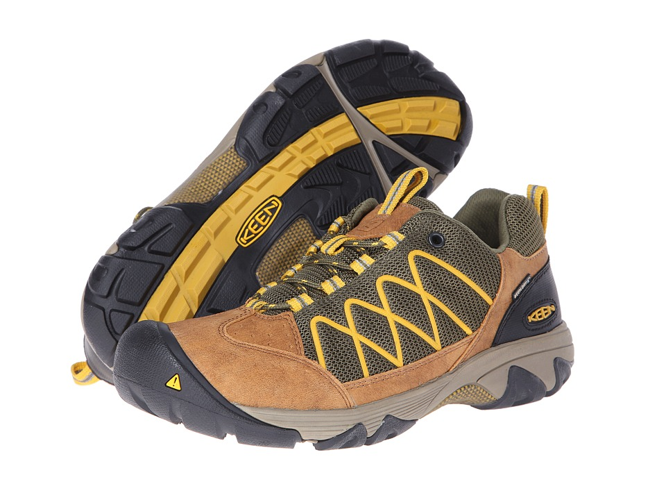 Keen - Verdi II WP (Burnt Olive/Tawny Olive) Men's Shoes