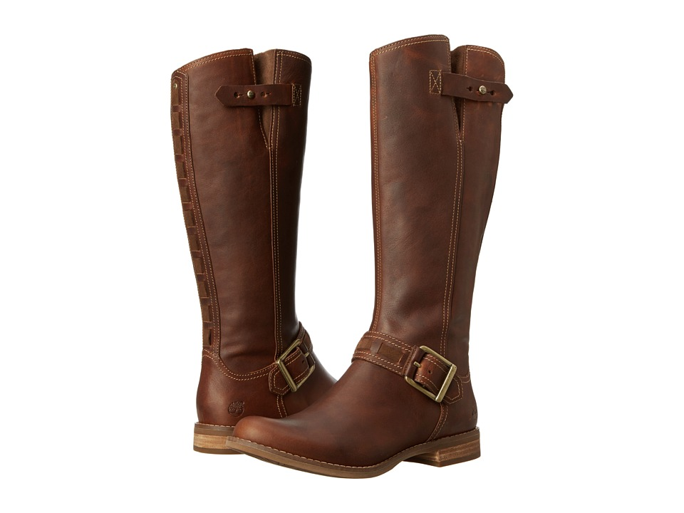 Timberland - Earthkeepers Savin Hill Tall Boot (Tobacco Fort Leather) Women's Boots