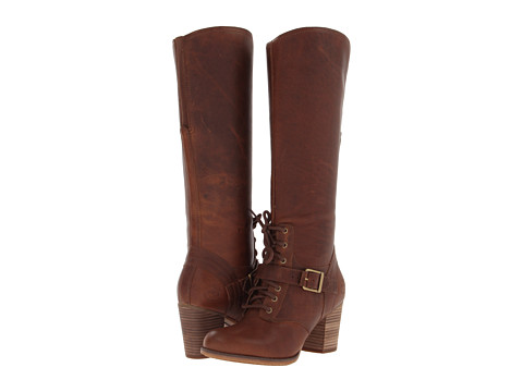 Timberland - Earthkeepers Trenton Tall Boot (Tobacco Forty Leather) Women's Boots