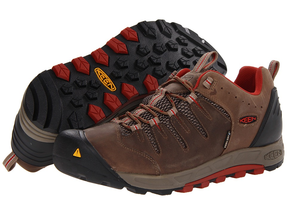Keen - Bryce WP (Shitake/Bossa Nova) Men's Shoes