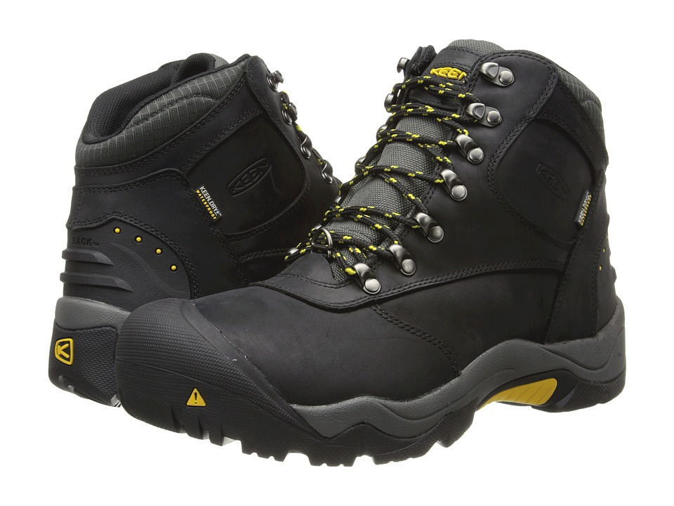 Keen - Revel II (Black/Yellow) Men