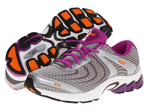 Ryka - Motive (Grey/Dark Grey/Dark Purple) Women's Running Shoes