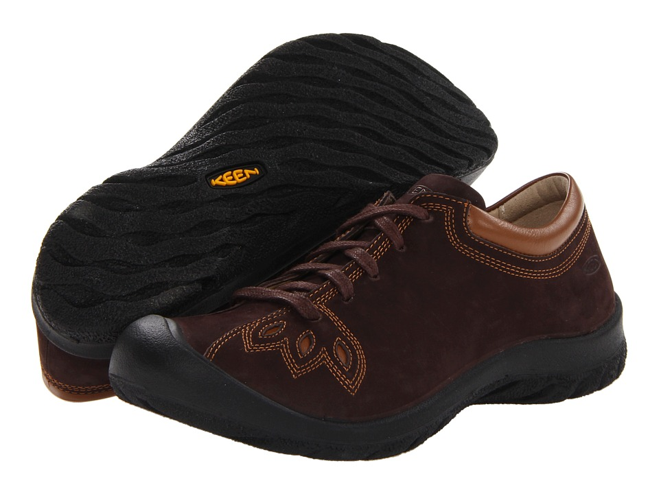Keen - Barika Lace (Chocolate Chip) Women's Lace up casual Shoes