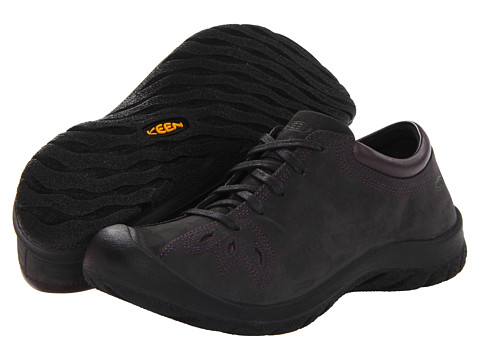 Keen - Barika Lace (Black) Women's Lace up casual Shoes