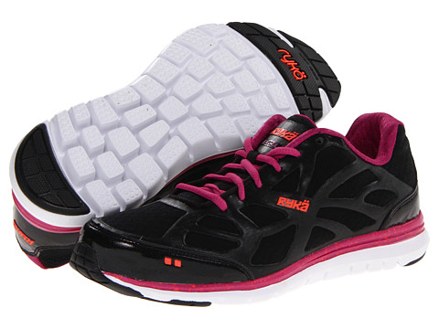 Ryka - Excel (Black/Berry/Electric Coral) Women's Running Shoes