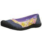 Keen Landcaster Ballerina (Black Iris) Women's Slip on Shoes