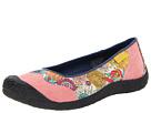 Keen Landcaster Ballerina (Hot Coral) Women's Slip on Shoes
