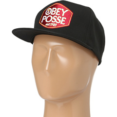 SALE! $14.99 - Save $9 on Obey Forty Snapback (Black) Hats - 37.54% OFF $24.00